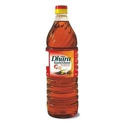 Dhara OIL -Mustand (Kachi Ghani) 1litre Bottle