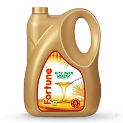 Fortune Rice Bran Health Oil 5 litres, Jerry cans