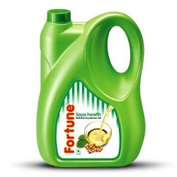 Fortune Soya Health Oil  5 litres,  Jerry cans