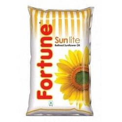 Fortune Sunlite Oil 1 litre Pouches