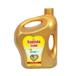 Saffola Gold VEGETABLE Oil, 5 Ltr jar