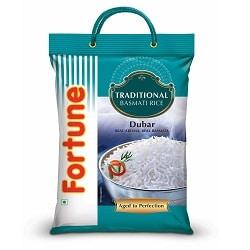 Fortune Traditional Dubar Basmati Rice, 5kg
