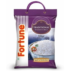 Fortune Traditional Tibar Basmati Rice, 5kg
