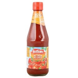 Kissan Tomato Sauce - No Onion No Garlic, 500g Bottle