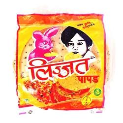 Lijjat Papad - Punjabi Masala, 200 gm Pouch