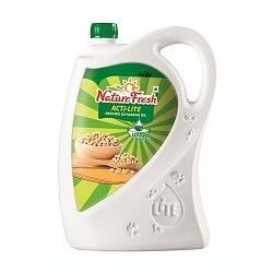 Nature Fresh Soyabean Oil - Acti Lite Refined, 5 ltr jar