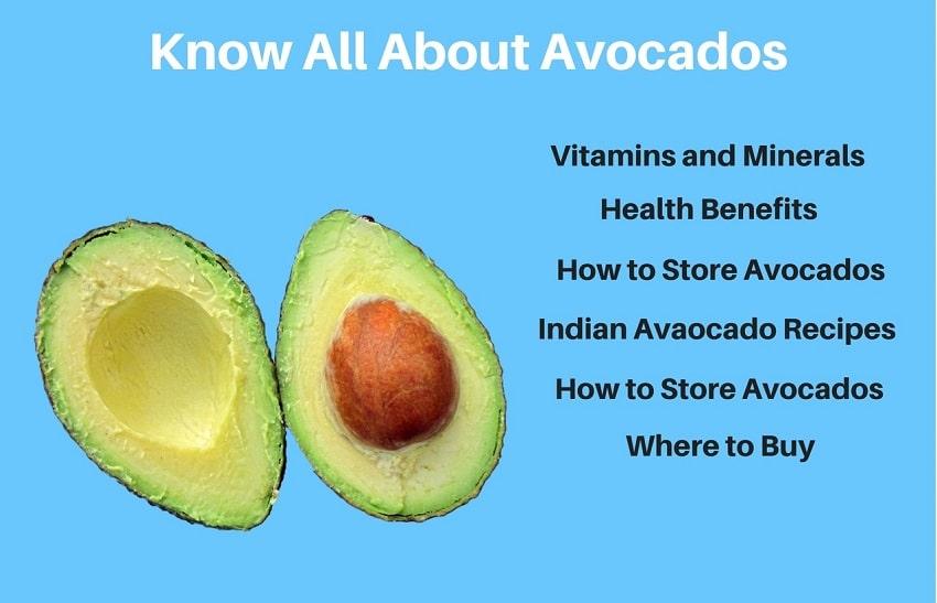 Avocado Health Benifits