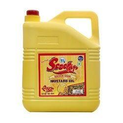 Scooter Mustard Oil Pet Jar 5 Ltr