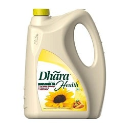 Dhara Refined -Sunflower oil 5 litre can