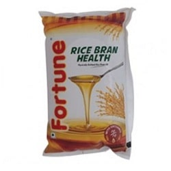 Fortune Rice Bran Health Oil 1 litre pouches