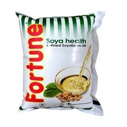Fortune Soya Health Oil 1 litre Pouches