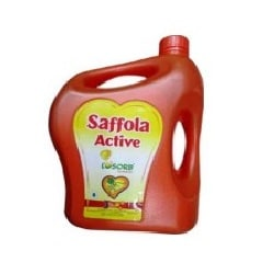 SAFFOLA ACTIVE VEGETABLE OIL JAR(5L)