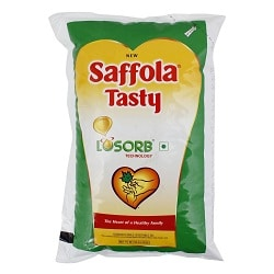 SAFFOLA TASTY VEGETABLE OIL (1L)