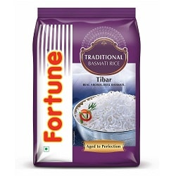 Fortune Traditional Tibar Basmati Rice, 1kg