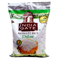 India Gate Basmati Rice-Dubar (1KG)