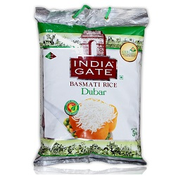 India Gate Basmati Rice-Dubar (5 KG)