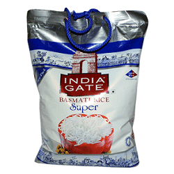 India Gate Basmati Rice-Super (5KG)