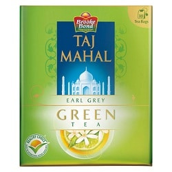 Taj Mahal Earl Gray Green 10 Tea Bags