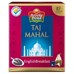 Taj Mahal English Breakfast 10 Tea Bags