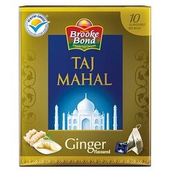 Taj Mahal Ginger 10 Tea Bags