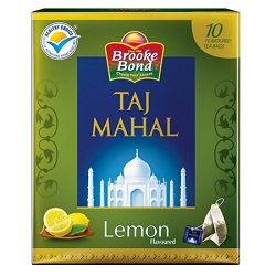 Taj Mahal lemon 10 Tea Bags