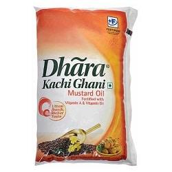 Dhara Kachi Ghani Mustard Oil