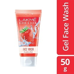 Lakmé Blush & Glow Strawberry Freshness Gel Face Wash