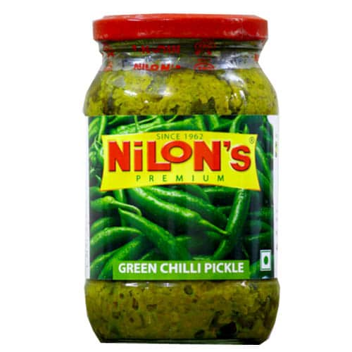 Nilon's Green Chilli Pickle