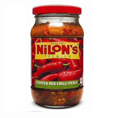 Nilon's Stuffed Red Chilli Pickle