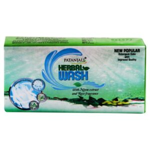 Patanjali Herbal Wash Detergent Cake