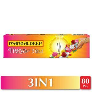 Mangaldeep Treya 3in1 Agarbatti