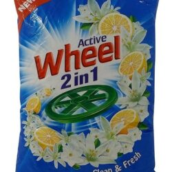 Wheel Active 2 IN 1 Clean & Fresh Detergent Powder