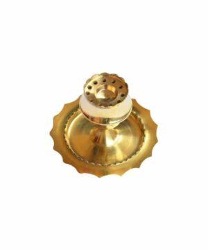 Golden Brass Agarbatti Stand